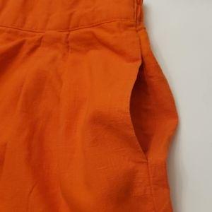 T.L.S Shorts - Made in USA by T.L.S linen SKIRT- SHORTS